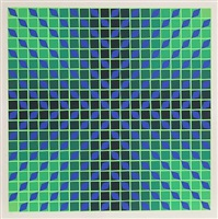 untitled 16 by victor vasarely
