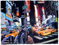times square by james romberger