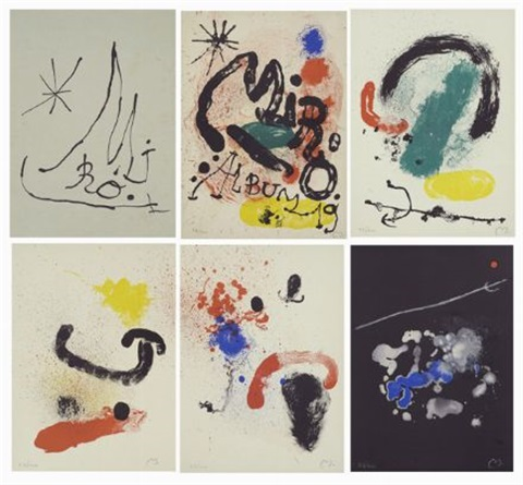 album 19 by joan miró