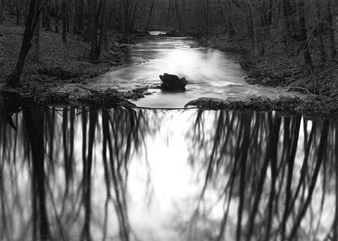 little river, redding, connecticut by paul caponigro