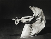 martha graham, letter to the world, kick, 1940 by barbara morgan