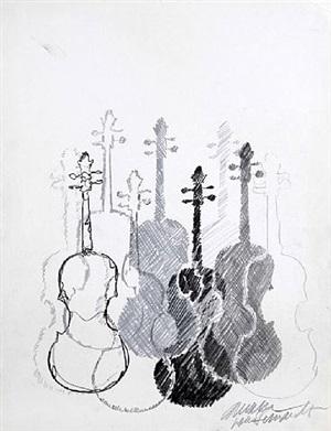 violins by arman