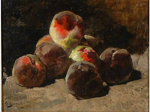 peaches by georges jeannin