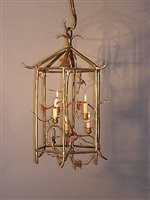 pair of lanterns by claude lalanne