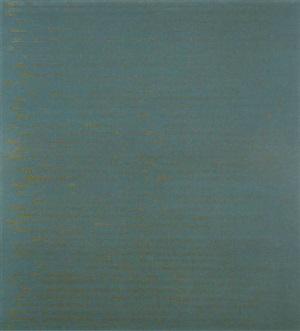 steel on deep turquoise by edwina leapman