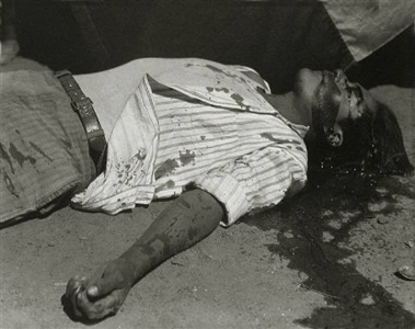 striking worker, assassinated / obrero en huelga, asesinado by manuel alvarez bravo