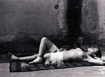 the good reputation sleeping / la buena fama durmiendo by manuel alvarez bravo