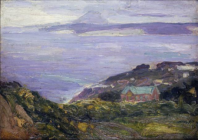 coastal landscape, france by henry ossawa tanner