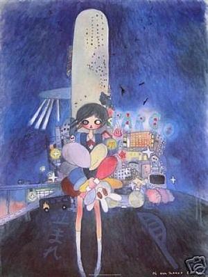 little stars of a city child by aya takano