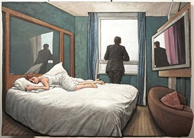 hotel room by sean henry
