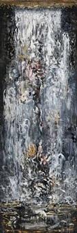 waterfall ii by maggi hambling