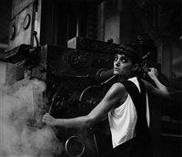 lynne koester, comme des garcons, paris 1984 by peter lindbergh