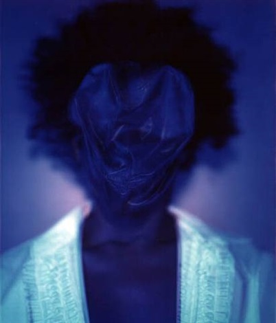 untitled (blue #1) by lyle ashton harris