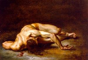 study of a man by jean-antoine julien