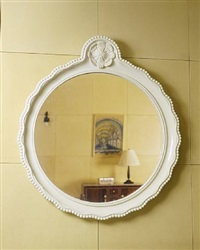 miroir circulaire / circular mirror by armand-albert rateau