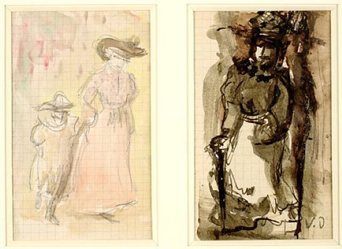 personnages by kees van dongen