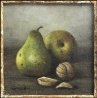 pears and walnuts by henk bos
