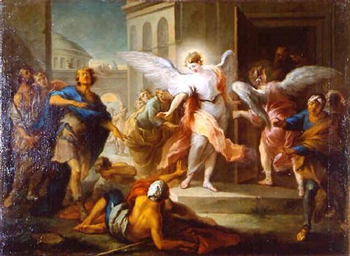 the blinding of the sodomites by carle van loo