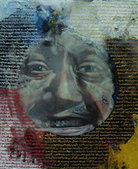 portrait of the artist and the lost statements#2 by chatchai puipia