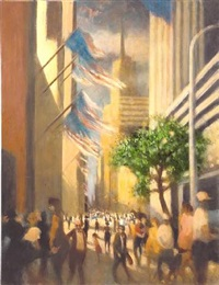 toward empire, fifth avenue i by bill jacklin