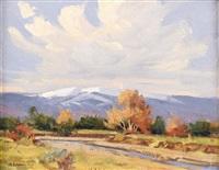 untitled: fall scene by bill warden