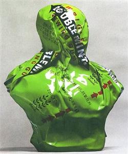green bust by jiao xingtao