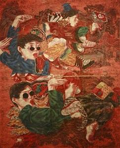 kung fu-fish series by lu peng