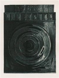 target with plaster casts by jasper johns