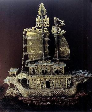barco de jade