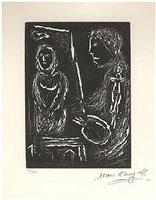 comme un barbare je colore ta face by marc chagall