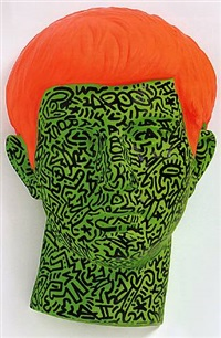 untitled, march 5 by la ii (angel ortiz) and keith haring