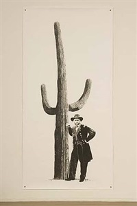 general grant with a saguaro by rene trevino