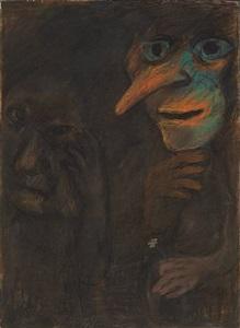 dark figure by ken kiff