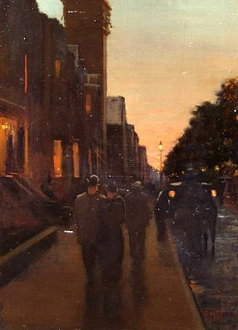 commonwealth ave by charles henry turner