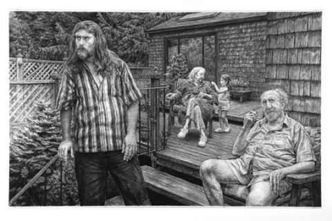 the andersons on their deck in garden city by edgar jerins