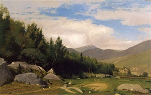 white mountains by william m. hart