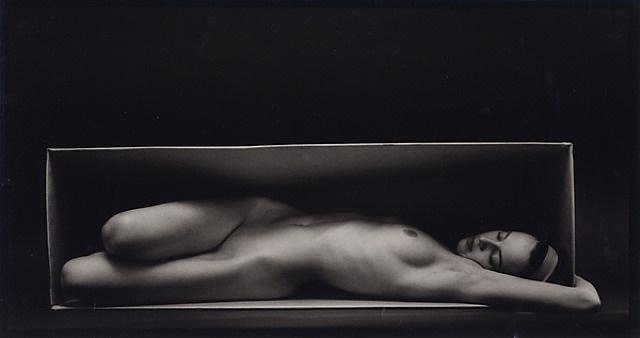 in the box - horizontal by ruth bernhard