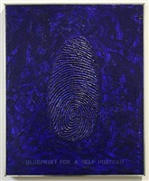 blue print for a self portrait by robert arneson