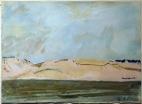 cape cod sand dunes by janice biala