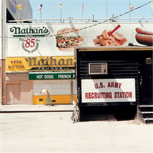 recruiting station, coney island, brooklyn, usa by peter granser