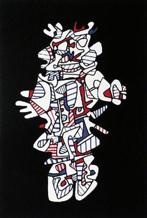 """presences fugaces"" series by jean dubuffet"