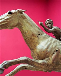 boy on horse, athens by tim hailand