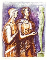 minerva, prometheus and pandora by henry moore