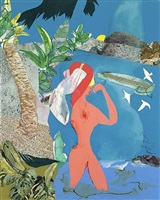 at low tide by romare bearden