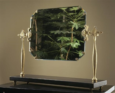 miroir octogonal by armand-albert rateau