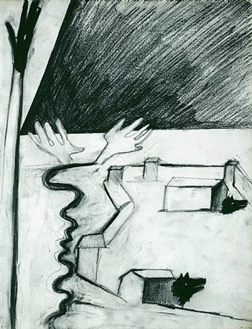 untitled by enzo cucchi