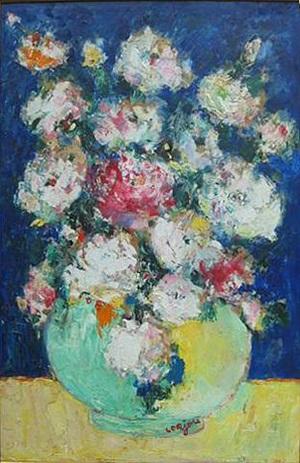 grand bouquet by bernard lorjou