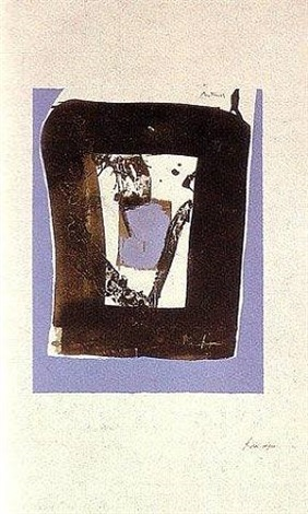 black and blue, basque suite by robert motherwell