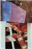 tribute 21 (art) by robert rauschenberg