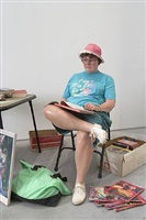 flea market lady by duane hanson